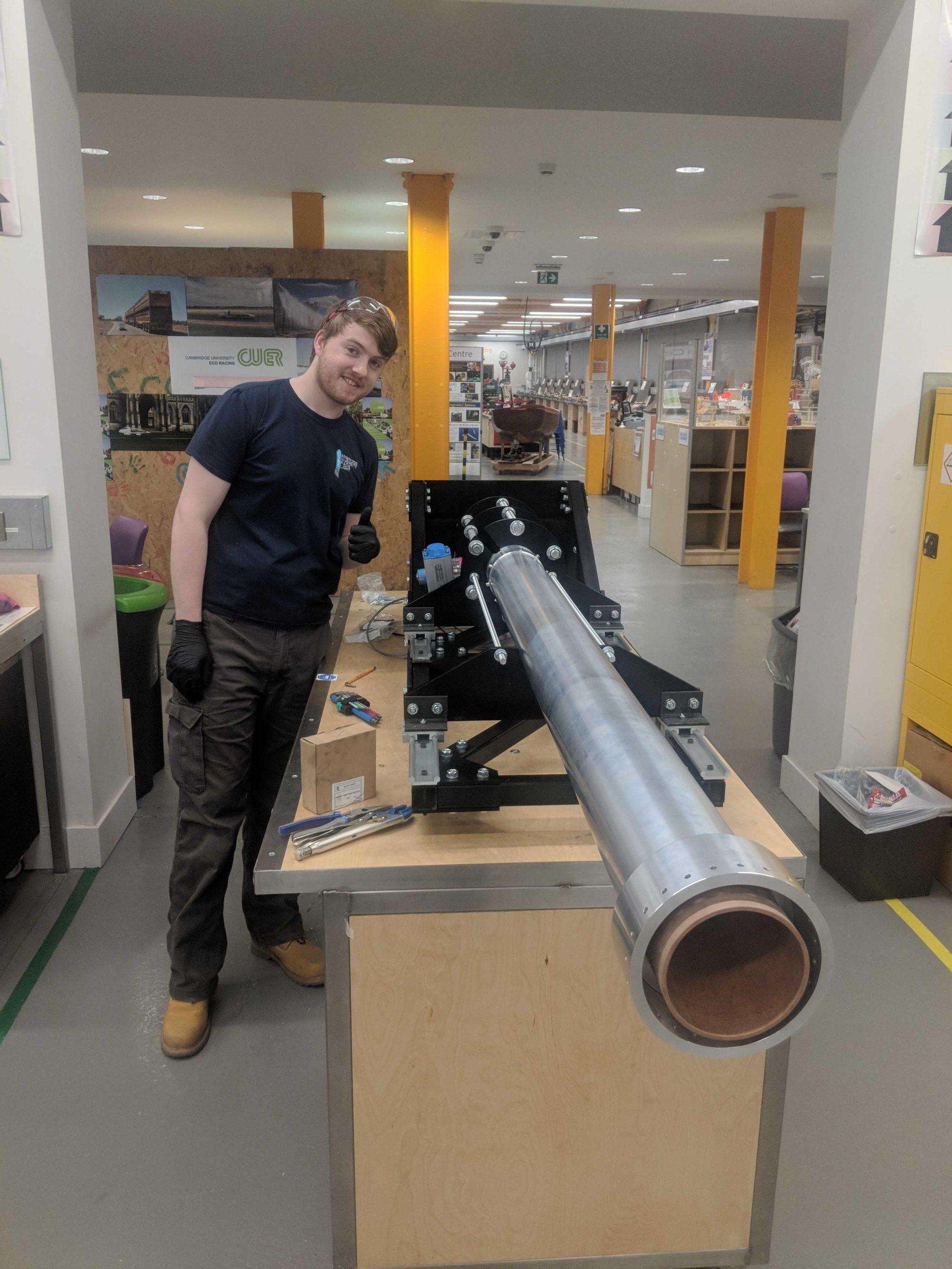 Pulsar hybrid rocket motor