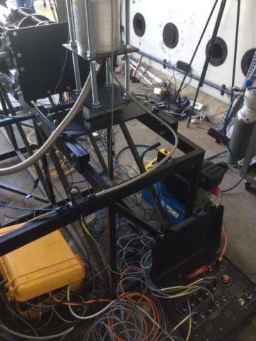 Hybrid rocket plumbing