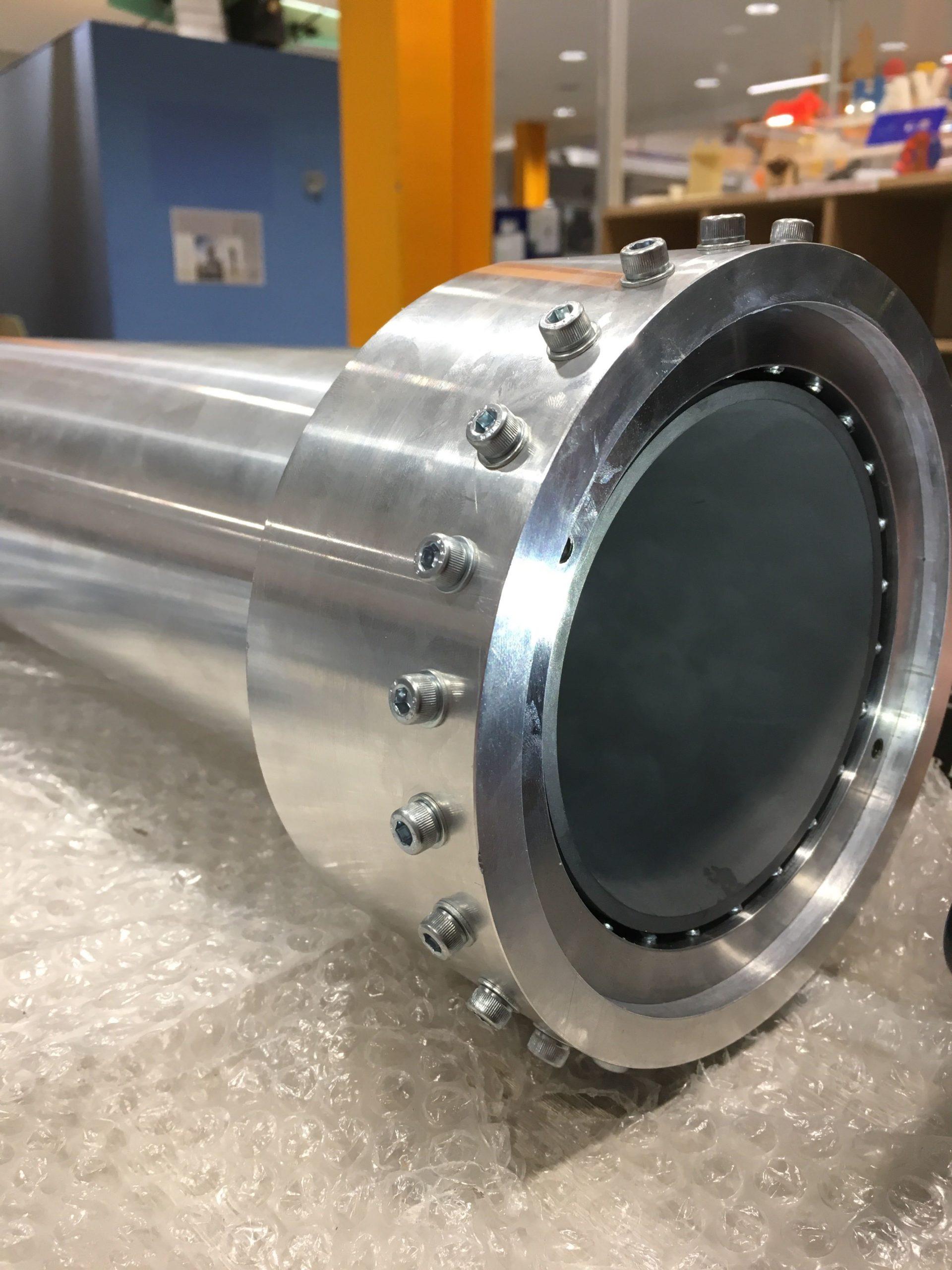 Pulsar hybrid rocket combustion chamber