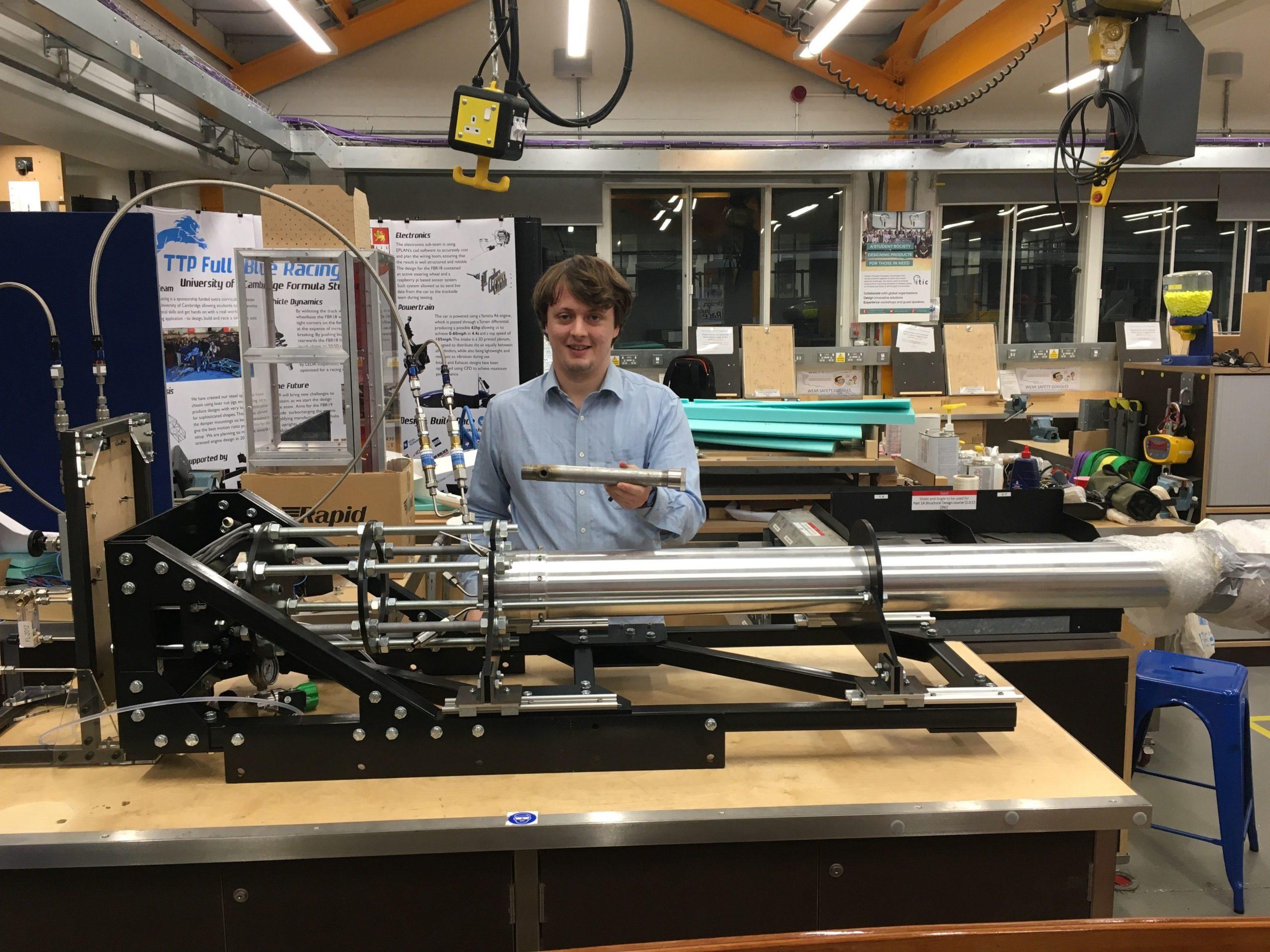Hybrid rocket motors at Cambridge
