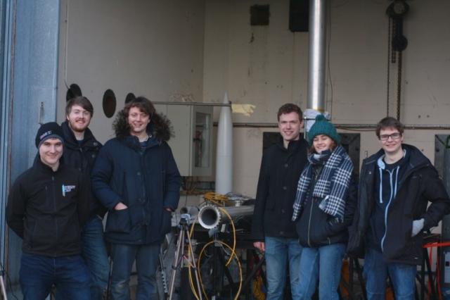 Cambridge University hybrid rocket